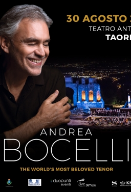 BUS X BOCELLI A TAORMINA IN CONCERTO In Bus Sharing Partenza: Palermo - Villabate - Bagheria - T.Imerese - €.25.00 p.p.