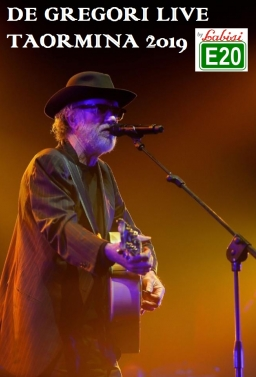 DE GREGORI LIVE A TAORMINA IN CONCERTO IN BUS SHARING PARTENZA: PALERMO - VILLABATE - BAGHERIA - T.IMERESE - €.25.00 P.P. + 3